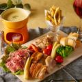 料理メニュー写真肉屋のメリメロチーズフォンデュ