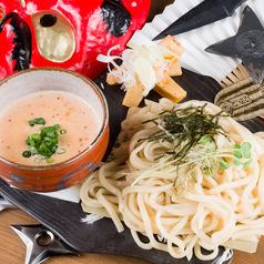 明太子クリームつけ麺
