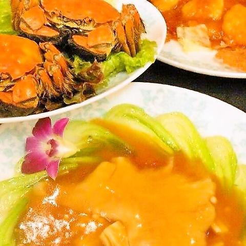 【旬の季節のコース】フカヒレ姿煮など豪華コース 8800円(税込)  ※お料理のみ