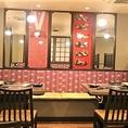 1Fはカウンター席!2F,3Fはテーブル席となっております。和モダンな雰囲気の店内は、ゆっくりと落ち着いた宴会を演出してくれます。着席時32名様までご宴会が可能ですので、何なりとご相談ください。