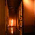 おしゃれな廊下。