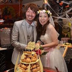 【貸切】ウエディングパーティーでのケーキ入刀☆