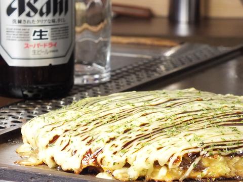 ビール&ミックス焼き1400円⇒1200円