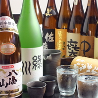 焼酎・日本酒揃ってます!焼酎は380円~!