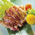 料理メニュー写真地鶏の岩塩焼き