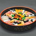 料理メニュー写真桶寿司