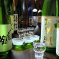 新潟の地酒を豊富にご用意しております。