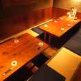 4~10名席!各種テーブル席を取り揃えています