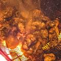 料理メニュー写真黒薩摩鶏の『黒王』炭火焼き