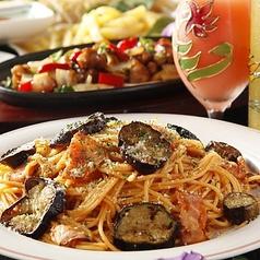 料理メニュー写真◆茄子とベーコンのトマトソースパスタ【アラビアータ】 ◆