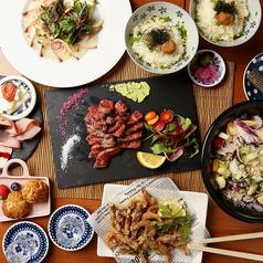 海鮮×肉×鉄板バル okiumiyaのコース写真