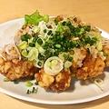 料理メニュー写真鶏唐揚げ ネギソース
