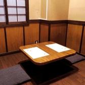2F掘りごたつ個室は2名専用の席もございます。