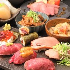肉寿司 ことぶき 寿喜 kotobukiのコース写真