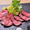 料理メニュー写真35日熟成 黒毛和牛ランプ炭火焼き