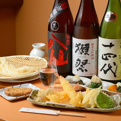 絶品つまみと希少な日本酒を落ち着いた雰囲気で愉しめる和食居酒屋