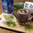 旬の味覚をお楽しみいただけます。「松茸の土瓶蒸し」