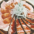 料理メニュー写真ローストビーフ&ローストポークプレート