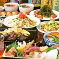 春・夏・秋・冬のすべての季節にも宴会にも沖縄料理で。