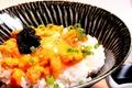料理メニュー写真北海雲丹の「TKG」キャビアのせ