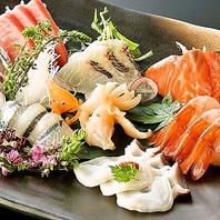 全国選りすぐりの旬魚◆店主の目利きで仕入れる海の幸