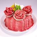 料理メニュー写真【予約限定】 お祝い肉ケーキ