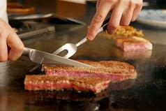 鉄板焼きステーキ あずまの写真