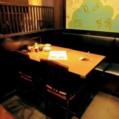4名様テーブル席♪カップルやお友達と!