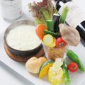 料理メニュー写真島根県産 季節野菜のガーデンバーニャカウダ♪