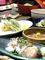 京都の旬の味にこだわった川床コースをご用意。(写真はイメージです)