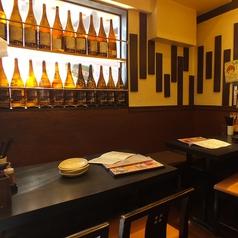 南行徳にある大衆居酒屋!おすすめの焼酎や日本酒もご用意しております!ご興味のある方は一度スタッフまでお声掛けください!4名席×3