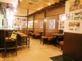 全テーブル鉄板付きなので、アツアツ料理を心行くまで堪能できます!広島で本場のお好み焼きを食べるならここ☆
