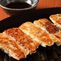 料理メニュー写真自家製 鉄板餃子