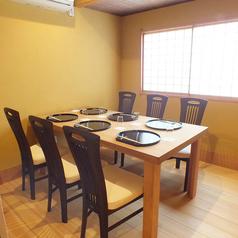 【特別な日のお食事に】個室(6名様までご利用可能)。接待や会食・記念日・お子様連れのご家族様等におすすめの個室。お履物を脱いでゆったりとお食事お召し上がり頂けます。