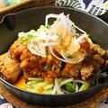料理メニュー写真チキンタツタのサルサ・トマトソース