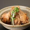 料理メニュー写真鶏手羽のポン酢煮