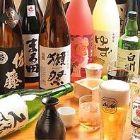 豊富な種類のドリンクを取り扱う大通の居酒屋