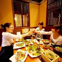 仕事終わりにも!個室空間と料亭直営の料理で愉しむ