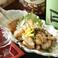 料理メニュー写真● 炙り鶏皮ポン酢