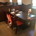 6名様用のテーブル席が1テーブルございます。※お子様用の椅子を追加・入れ替えもできます。