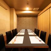 【B1F:4~14名様まで】テーブル席 8名様レイアウト