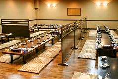 各種宴会対応可能な大広間は最大110人まで対応可能です。