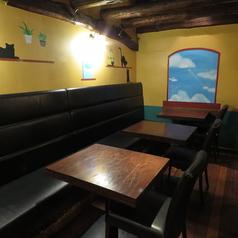木のぬくもりあふれる店内で落ち着いたお食事を♪ゆったりお寛ぎ頂ける空間をご用意してお待ちしております。
