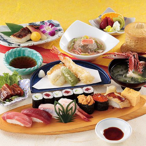 【 寿司会食-5500円(税込) 】