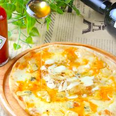 ハニーチーズピザ