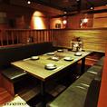 三間堂新宿NSビル店 個室テーブル席