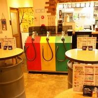 日本初給油機からビールが出ます!