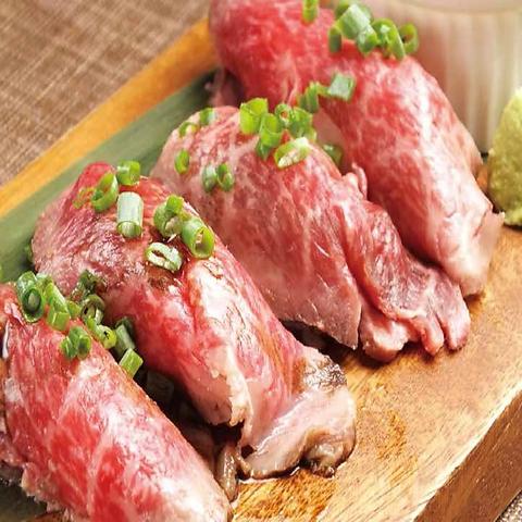 最大宴会50名様対応可。肉寿司を含めた絶品料理が食べ放題♪各種宴会ご予約承り中♪