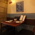 お友達とのお食事などゆっくりとした空間で存分にお楽しみいただけます♪