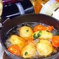 料理メニュー写真渡辺マッシュルームとプチトマトのアヒージョ